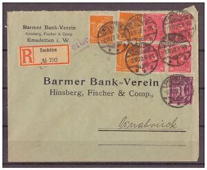 Deutsches-Reich-Infla-Einschreiben-MeF-Emsdetten-nach-Osnabrueck-03-12-1922