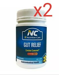 2x-Nutrition-Care-Gut-Relief-Powder-150g-digestive-disorders-Peppermint-flavour