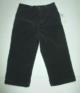 NEW-NWT-BOYS-RALPH-LAUREN-NAVY-BLUE-CORDUROY-DRESS-PANTS-SIZE-18-MONTHS