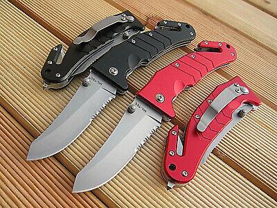 Gurtschneider 3CR13 Glasbrecher 2 Rettungsmesser Automesser Einhand Messer