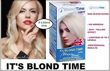 Blond Supra Hair Bleaching Lightening Kit product Professional result No Ammonia