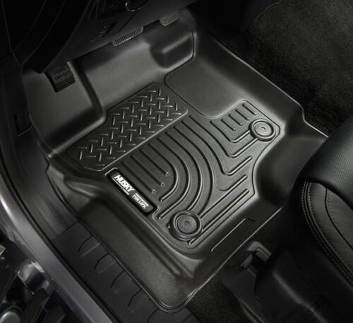 2013-2017 Honda Accord Sedan Black Husky WeatherBeater 1st /& 2nd Row Floor Mats