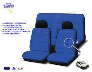 Coprisedili Fiat Cinquecento 1991>1998 Fodere copri sedile set cotone fodera kit