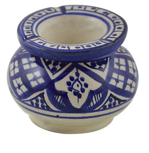 Image Is Loading Ashtray  Ceramic Outdoor Indoor Smokeless Cuban Moroccan Cigar