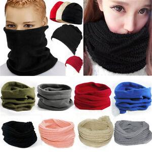 Women-Men-Winter-Snood-Neck-Warm-Balaclava-Tube-Scarf-Cowl-Beanie-Hat-Face-Mask