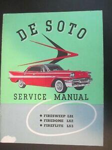 DeSoto Shop Manual CD 1958 1959 1960 1961 De Soto Repair Service All Cars