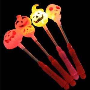 Halloween-Kuerbis-Schaedel-Design-Spielzeug-Glow-Stick-Light-Up-Spielzeug