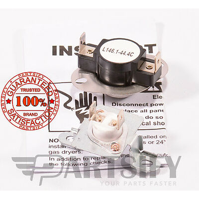 279973 8318314 DRYER THERMAL FUSE & THERMOSTAT KIT FOR WHIRLPOOL KENMORE MAYTAG