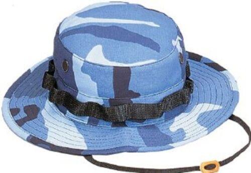 Rothco 5802 Camo Poly//Cotton Boonie Hat Sky Blue Camo