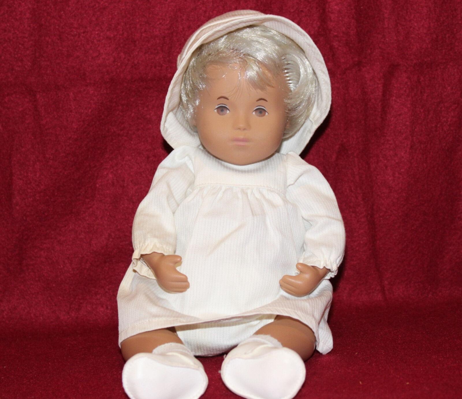 12  Vintage Baby Sasha muñeca con cabello rubio justo, Hecho En Inglaterra