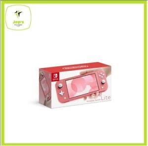 Latest-Nintendo-Switch-Lite-Coral-Pink-Brand-New-Jeptall