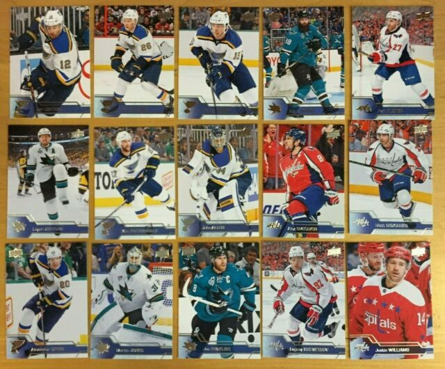 2016-17 UD HOCKEY SINGLES*SERIES 1*CLICK*SELECT*BUY 3+ RECEIVE A 25% REFUND