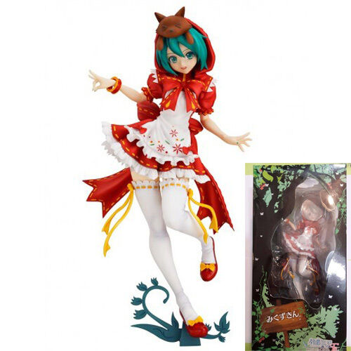 HATSUNE HATSUNE HATSUNE MIKU CAPERUCITA ROJA 25 CM   RED RIDING HOOD 9,8  PROJECT DIVA 2ND 53367e