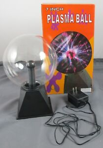Creative-Motion-7-034-Electrifying-Plasma-Ball-For-Parts-Not-Working