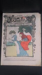 Rivista Jeans Che Rit N° 338 1907 Giornale Illustre che Appaiono Il Venerdì ABE