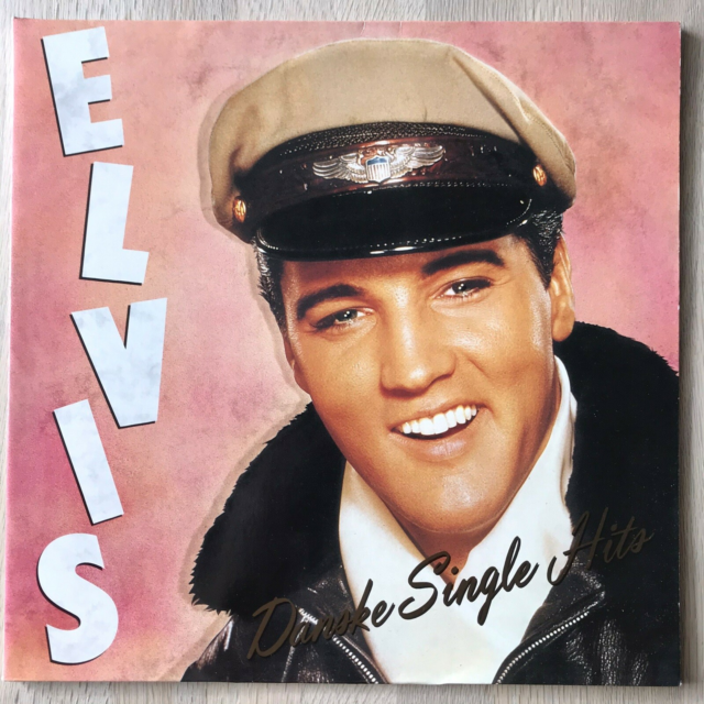 LP, Elvis Presley, Danske Single Hits, Pop, Rock Tysk 1991…