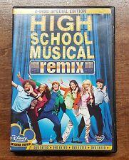 High School Musical (DVD, 2006, 2-Disc Set, Remix Edition)