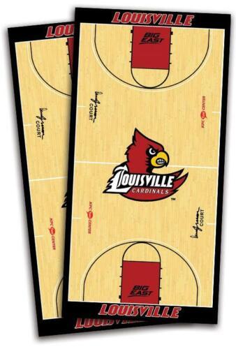 Louisville Cardinals Cornhole Bag Toss Wrap Set