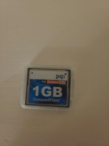 pq1 1GB COMPACT FLASH CARD CF MEMORY 40x
