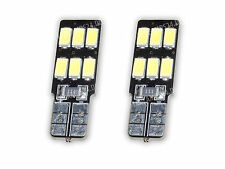 2x 6 SMD 5630 Chip LED T10 W5W XENON kaltweiß CANBUS Innenraumbeleuchtung L80