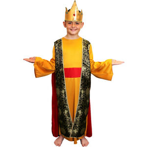 Childs kids wise man costume nativity king fancy dress school play image is loading childs kids wise man costume nativity king fancy solutioingenieria Gallery