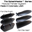 Mud Fenders USA Made SplashMaster™ Mountain Road Fat Bike Front and Rear Water