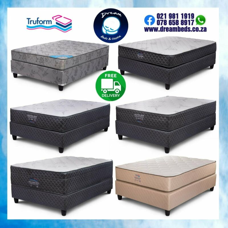 BEDS FOR SALE from R2649 with FREE DELIVERY - QUALITY BRAND SINCE 1984