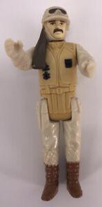 Vintage 1980 Kenner Star Wars Figures Complete Rare ESB Hoth Rebel Commander Toy