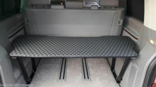 53cm Schwarz 910 VW T5 /& T6 Multivan Multiflexboard Bettverlängerung Ablage H