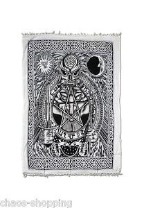 Tagesdecke-Wandbehang-Wandtuch-Uberwurf-Pentagram