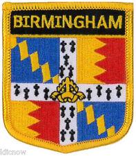 "Birmingham City (Shield) Embroidered Patch 6CM X 7CM (2 1/2"" X 2 3/4"")"