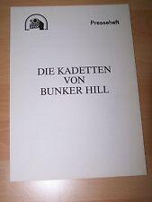 DIE KADETTEN VON BUNKER HILL – Presseheft ´83 - TOM CRUISE Timothy Hutton