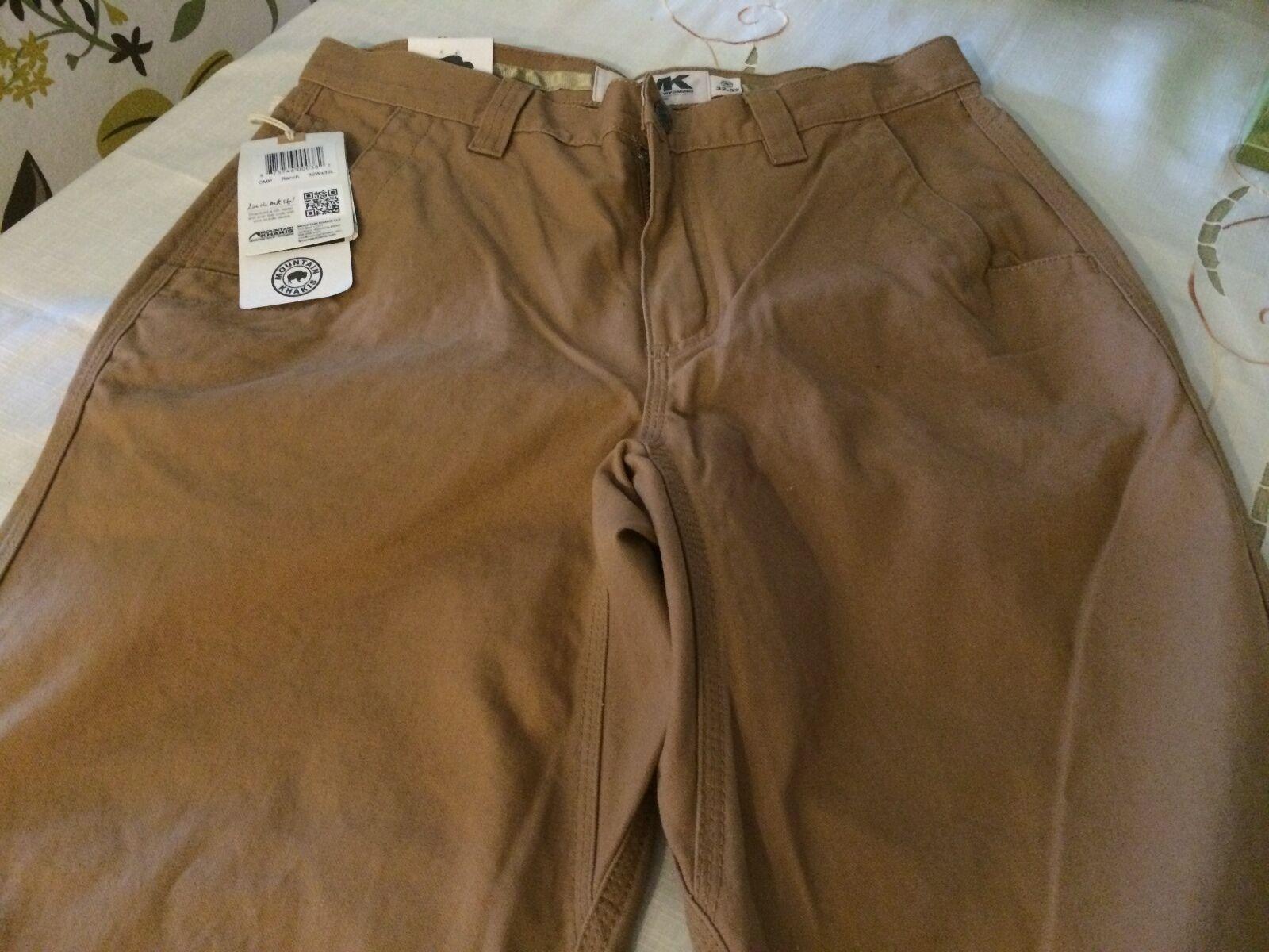 Mountain Caquis Original Montaña Ranch Pantalones 32wx32l
