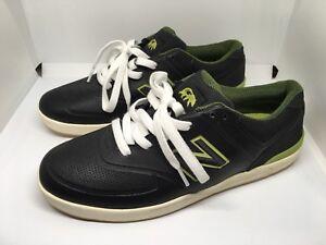 Details about New Balance Numeric Logan 637 Black AsphaltGreen Brand New