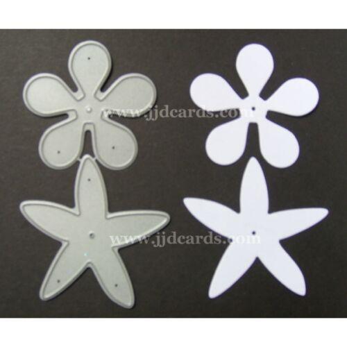 """2 /""""Single Multi flor /& Calyx-cardmaking y Scrapbooking Britannia Muere"""