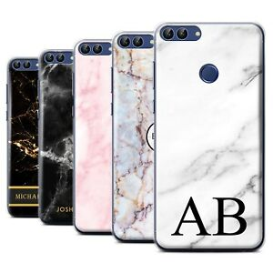 size 40 1b8f9 92dfe Details about Personalised Custom Marble Phone Case for Huawei P  Smart/Initial/Name/Text Cover