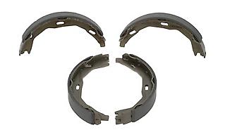 parking brake set of 4 Ferodo FSB690 Brake Shoe Set