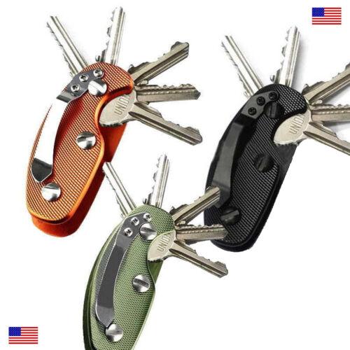 Key Holder Tool Organizer Keychain Men/'s Outdoors Survival Gift Stocking Stuffer