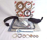 4l60e Transmission Rebuild Kit 4x4 4wd 1993-1996 W/ Bushings Band - He Clutches