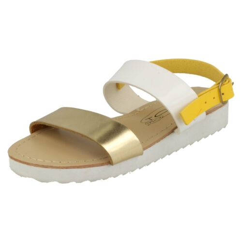 Girls Spot On Strap Detail /'Sandals/'