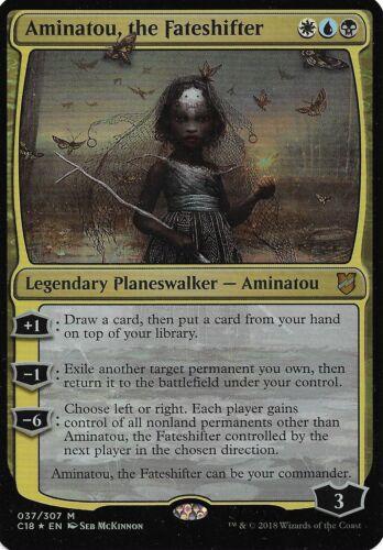 Mythic R. 037//309 the Fateshifter Oversized F. - Commander 2018 Aminatou