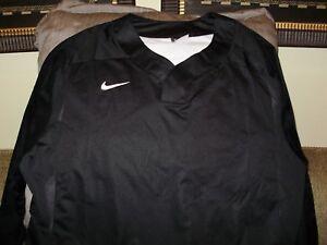Details about Nike Baseball Vapor LS 708188 Purple Pullover Wind Windshirt Jacket Men's L,XL
