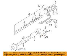 image is loading gm-oem-steering-column-spring-7812853