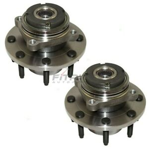 NEW-LH-RH-FRONT-WHEEL-BEARING-amp-HUB-ASSEMBLY-FOR-1999-2004-FORD-F-250-SUPER-DUTY