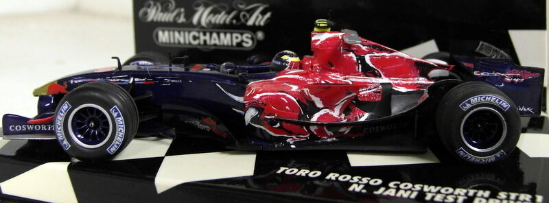 Minichamps 1 43 scale 400 060040 tor rouge cosworth STR1 jani 06 diecast voiture F1