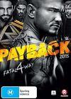 WWE - Payback 2015 (DVD, 2016)