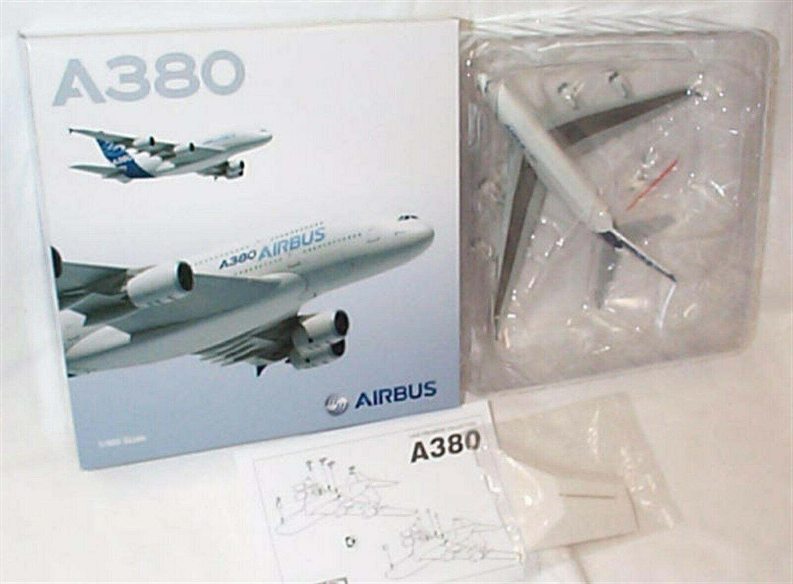 Airbus A380 aircraft Dragon wings New in Box 56359