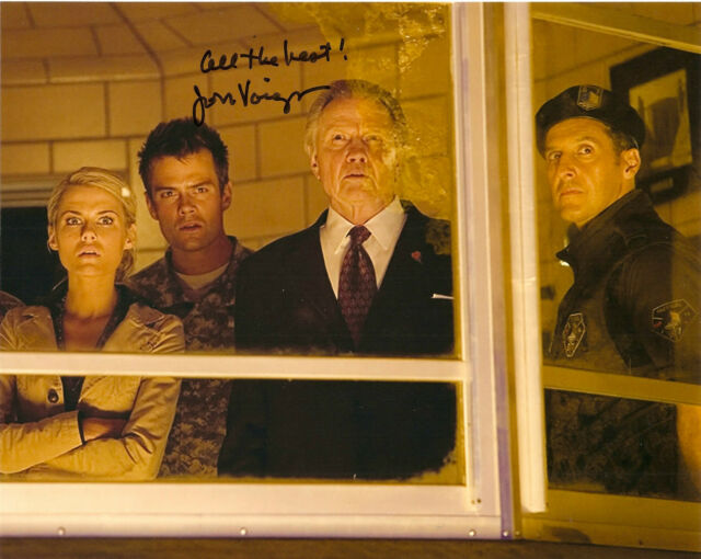 Transformers Jon Voight Autographed Signed 8x10 Photo COA