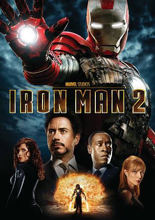 Iron Man 2 DVD, 2010  - $0.99