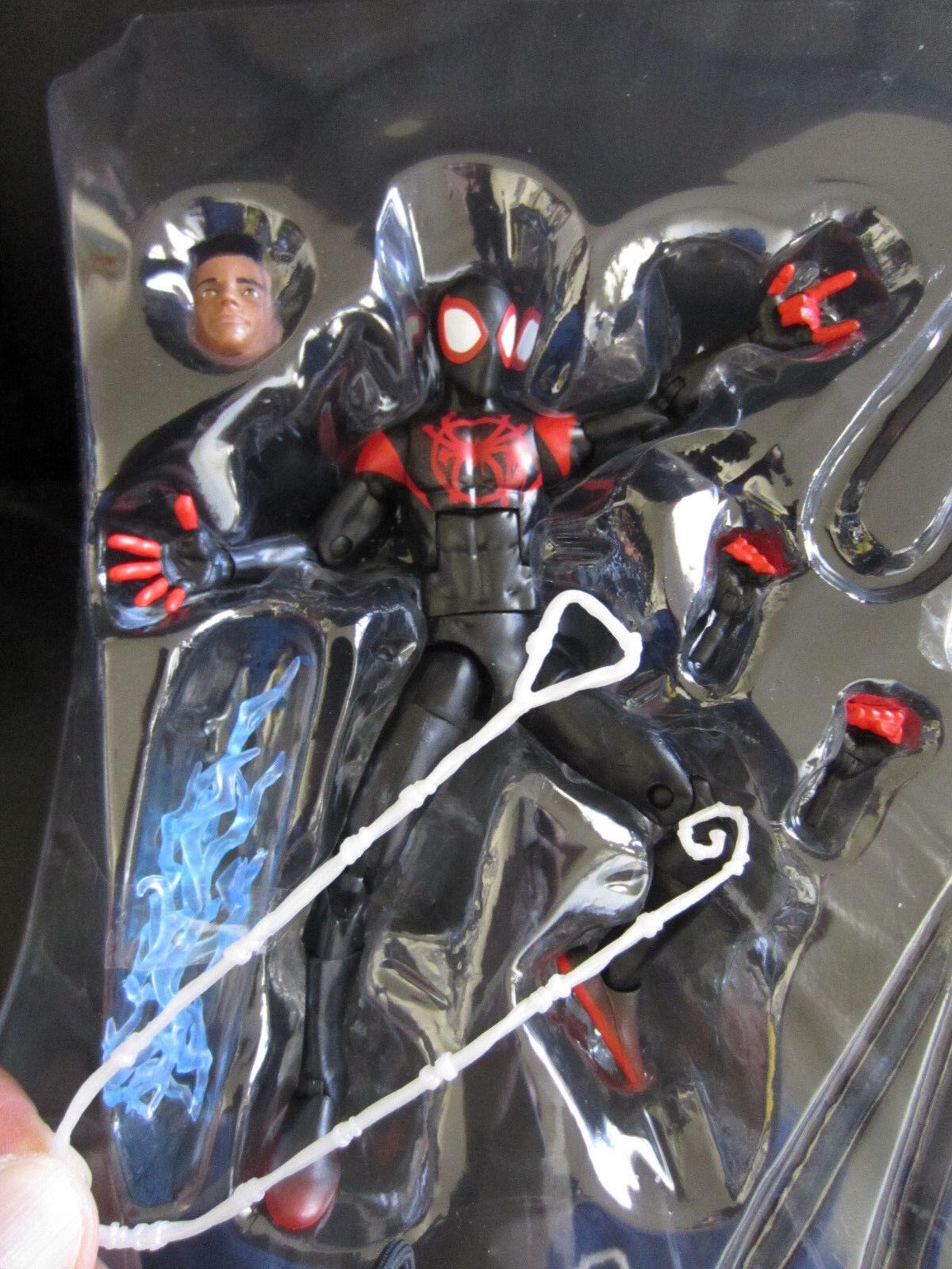 Marvel Legends 6  Into the Spider-Verse Miles Morales Ultimate Spider-Man Loose